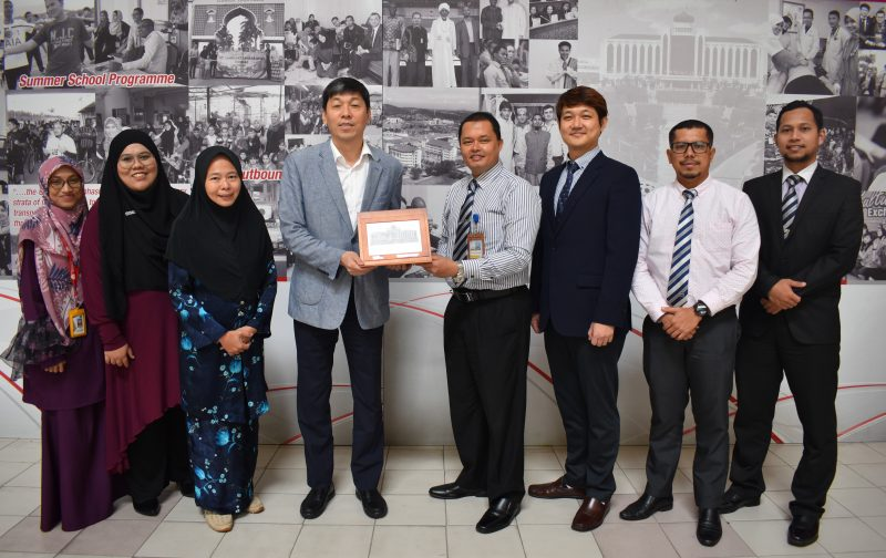 10 Feb 2020 - Working Visit from Sejong Cyber University, South Korea